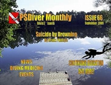 PSDiver Monthly Issue 66 - Suicide by Drowning