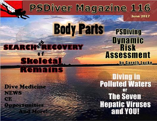 PSDiver Monthly Magazine Issue 116 Body Parts Skeletal Remains
